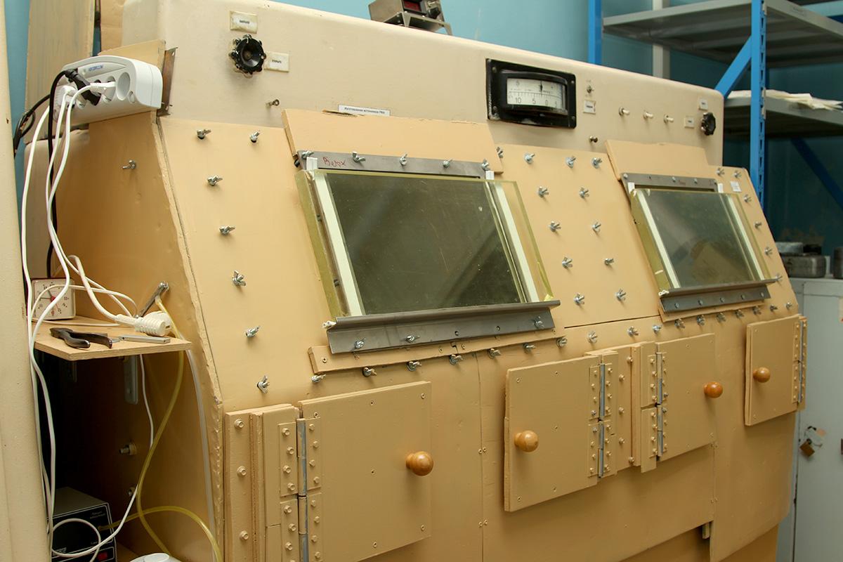 Изотопная лаборатория защитные боксы