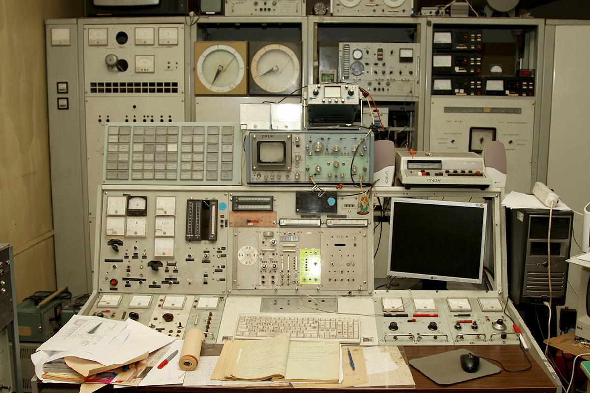 пульт циклотрона МГЦ-20